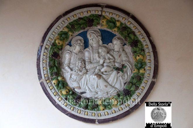 Benedetto Buglioni Madonna col Bambino san Giovannino e sue angeli