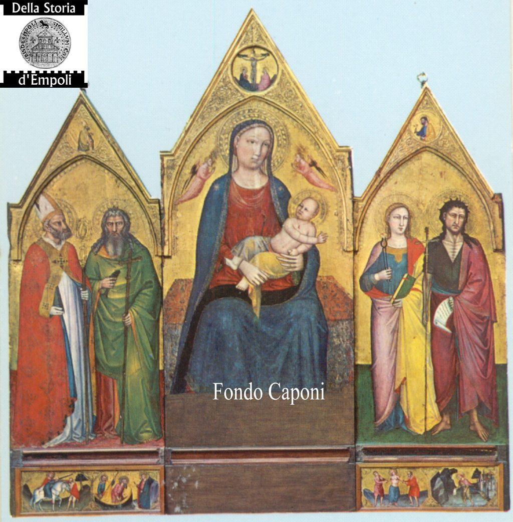 Fondo Pietro Caponi: Empoli Volume II, Pag. 44:  Cartoline Di Alcune Opere D'arte