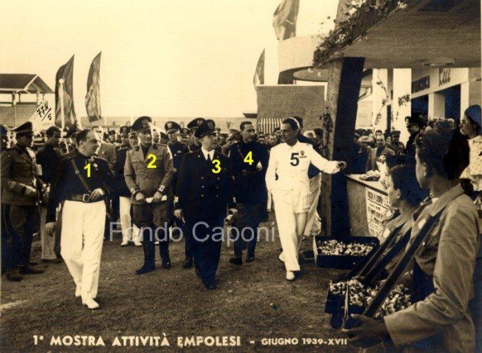 Gerarchi Fascisti Ad Empoli Il 17 Giu 1939