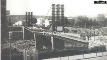 Fondo Caponi Empoli, Vol 2 pagina 32: il ponte vecchio danneggiato dall'alluvione 1966