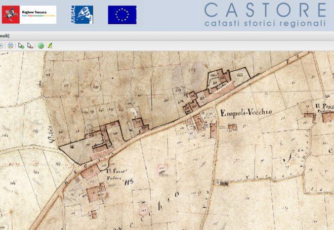 Castore estratto 1820 Empoli Vecchio