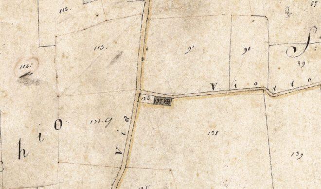 Catasto Leopoldino 1820 San Mamante