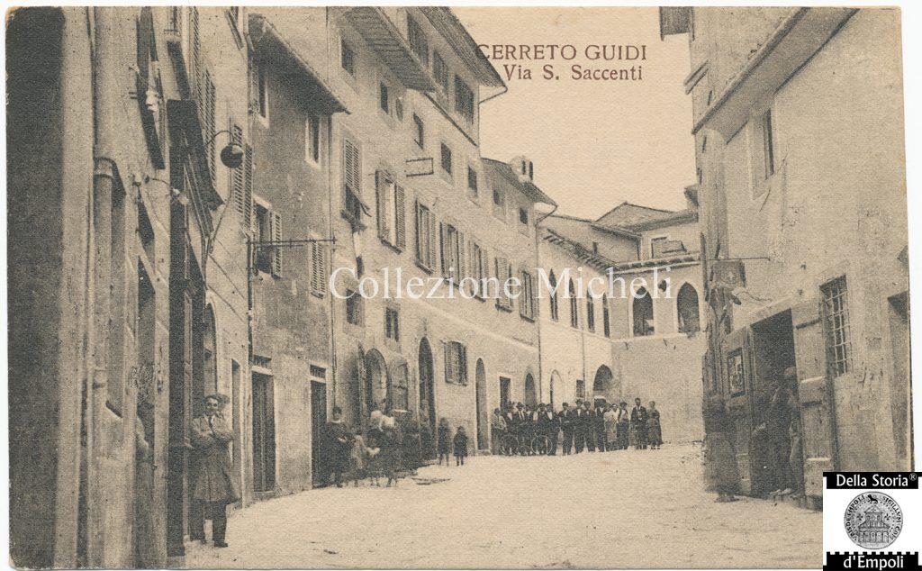 Cerreto Guidi - Via Santi Saccenti 1