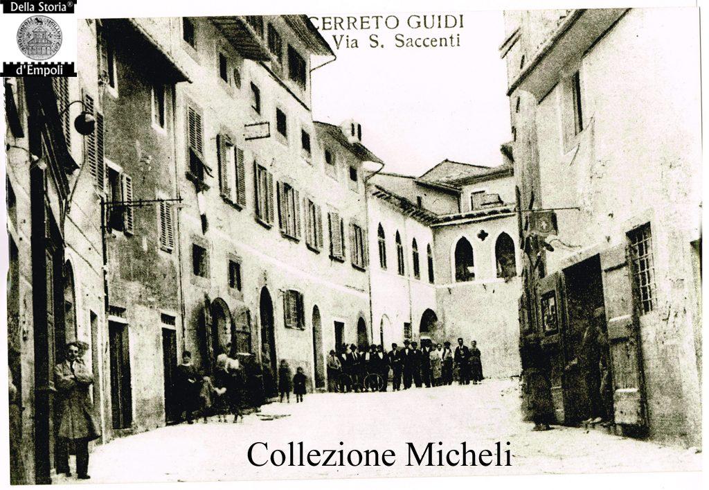 Cerreto Guidi - Via Santi Saccenti 2