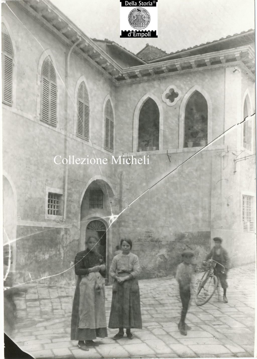 Cerreto Guidi - Via Santi Saccenti Porta al Palagio