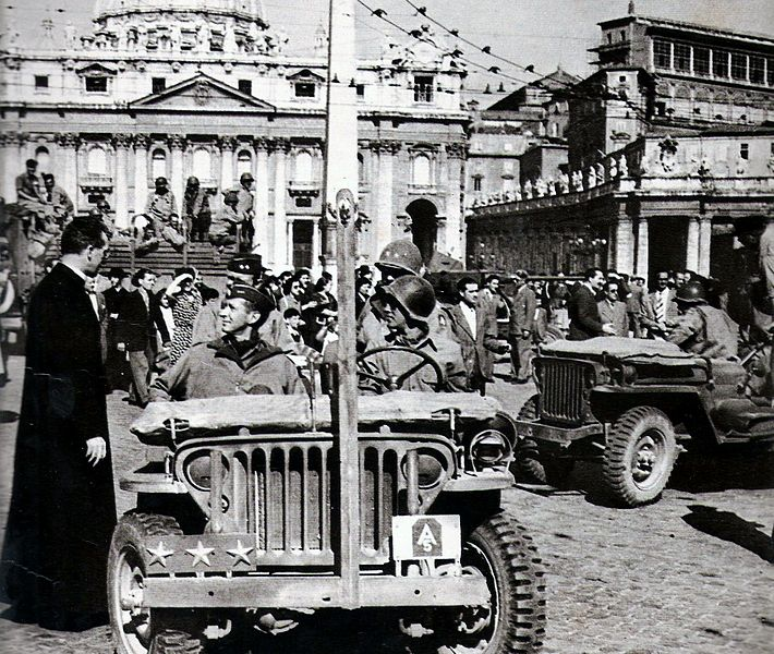 Claudio Biscarini: 4 Giugno 1944: Roma Libera. Giochiamo Con Un'ucronia. Se Clark Fosse Stato Kesselring E Viceversa
