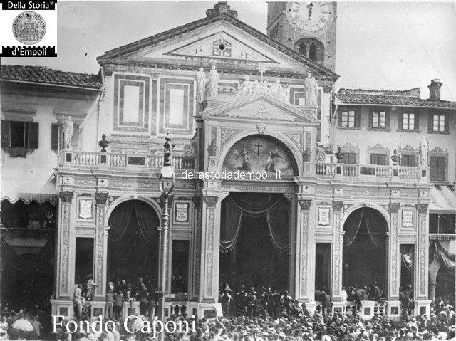 Fondo Caponi Empoli, Vol 1 Pagina 21: Il Corpus Domini E La Processione