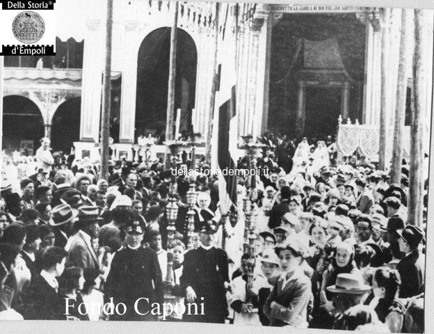 Collegiata S. Andrea di Empoli processione 2
