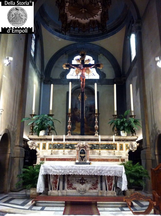 Collegiata altare senza pala (2)