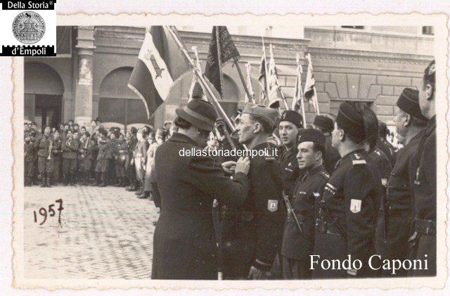 Reparti in attesa in Piazza del Littorio oggi Piazza del Popolo