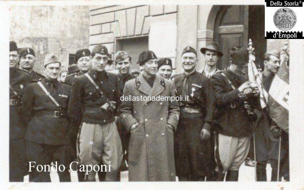 Fondo Caponi Empoli, Vol 2 Pagina 5: Adunata Fascista In Piazza Del Littorio, Oggi Piazza Del Popolo