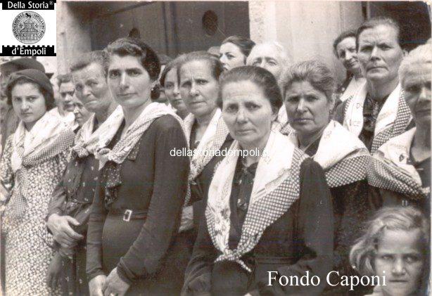 Adunata fascista in Via Giuseppe Del Papa