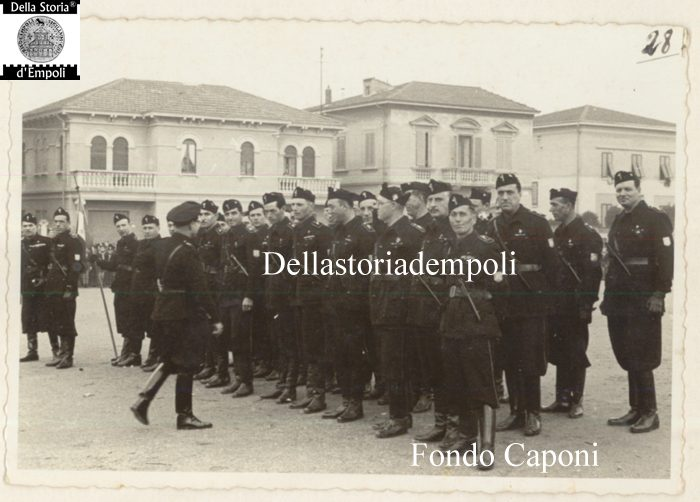 Fondo Caponi Empoli, Vol 2 Pagina 4: Adunata Fascista In Piazza XXVIII Ottobre Oggi Piazza Gramsci