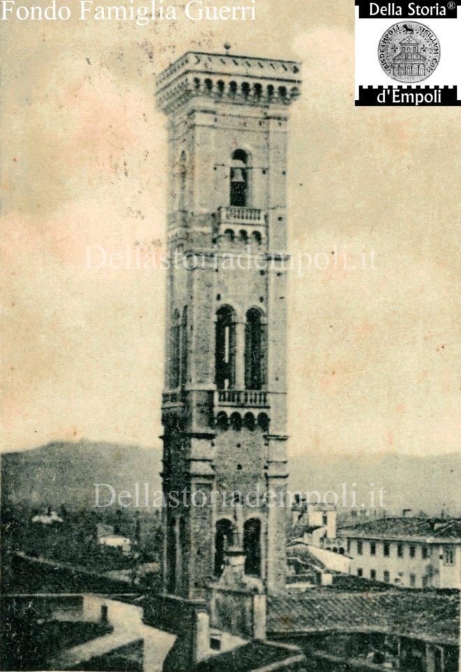 Empoli - Campanile S. Agostino visto da nord-ovest