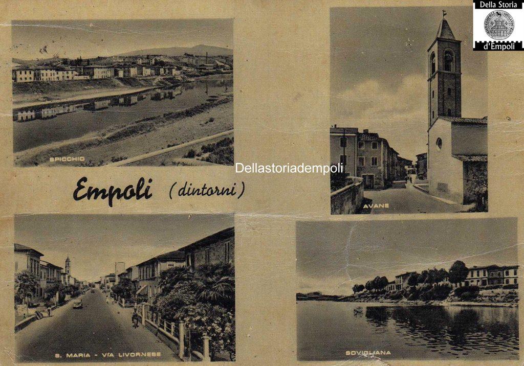 Empoli Cartolina Multipla Spicchio Avane Santa Maria Sovigliana Di Franco Arrighi
