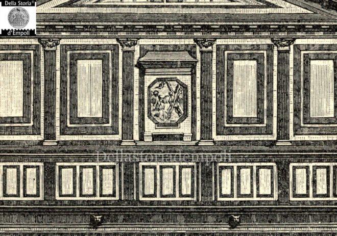 Empoli - Collegiata incisione di Roberto Barberis 2