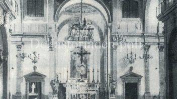Collegiata di S. Andrea: interni e altare ante guerra