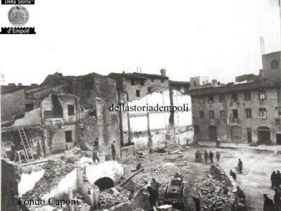 Fondo Caponi, Empoli, Vol 2  Pagina 16: Demolizione Dell'ex Quartiere Giudaico Per La Piazza Del Littorio