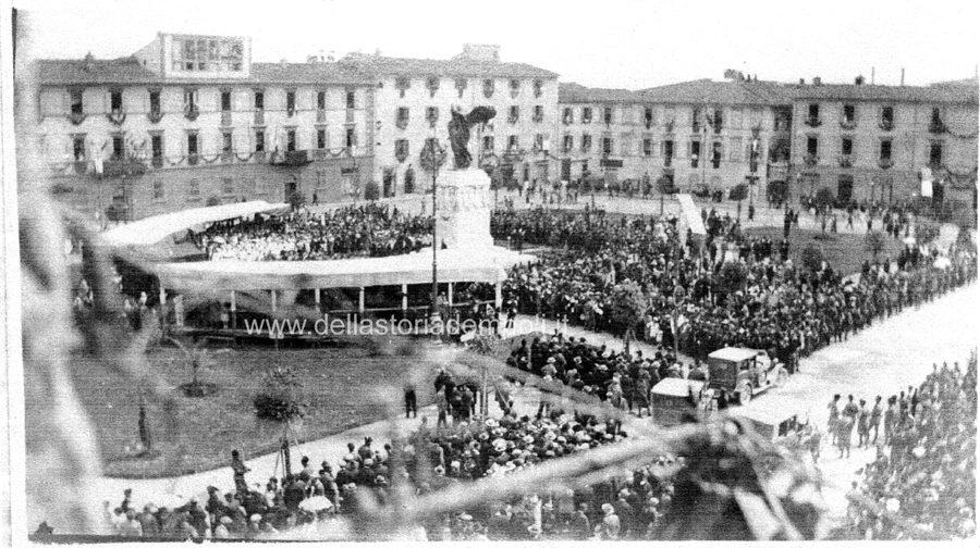 Foto Inaugurazione Monumento Ai Caduti 21 Giu 1925 – Di Carlo Pagliai