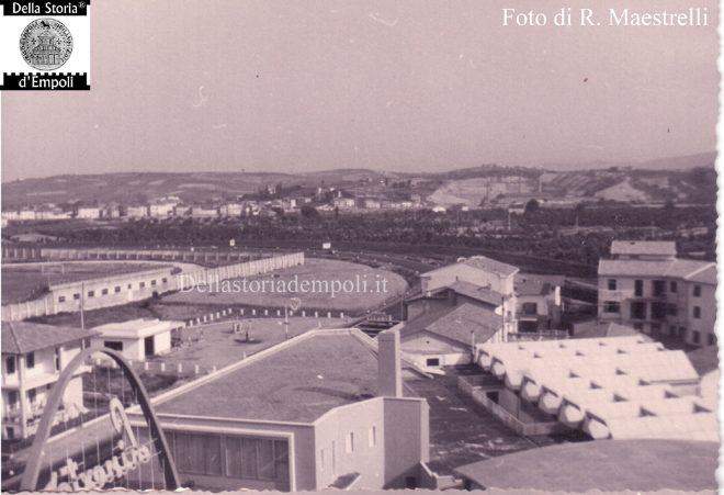 Foto 1 - Statale 67 e Stadio Vecchio (verso Nord)
