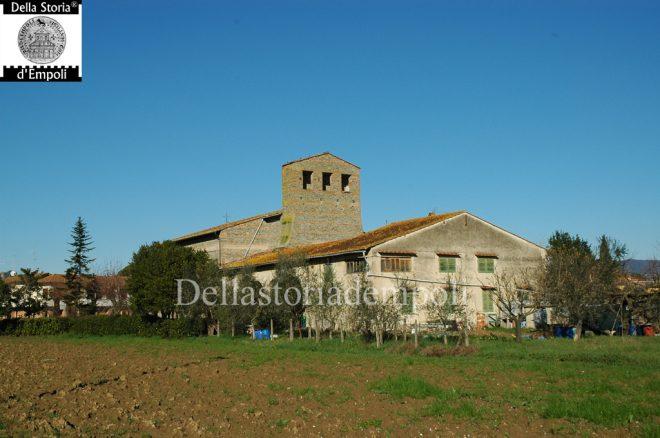Lato tergale di S. Cristina a Pagnana - Foto di Carlo Pagliai
