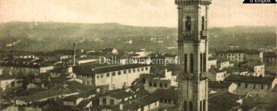 Empoli – Panorama e campinile S. Agostino collezione Maestrelli da Empoli e Storia