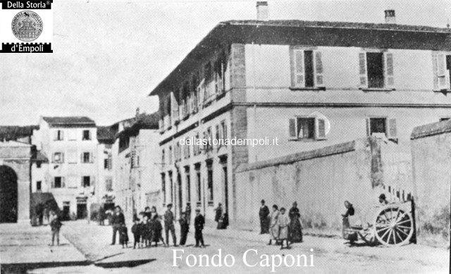 Empoli Piazza Ferrucci oggi XXIV Luglio