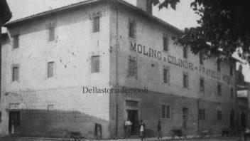 C'era una volta il mulino a rulli in Piazza Matteotti