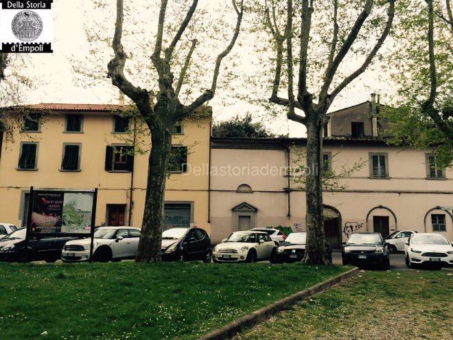 Empoli - Piazza Matteotti cappella SS Luigi e Filippo x cappella Lami