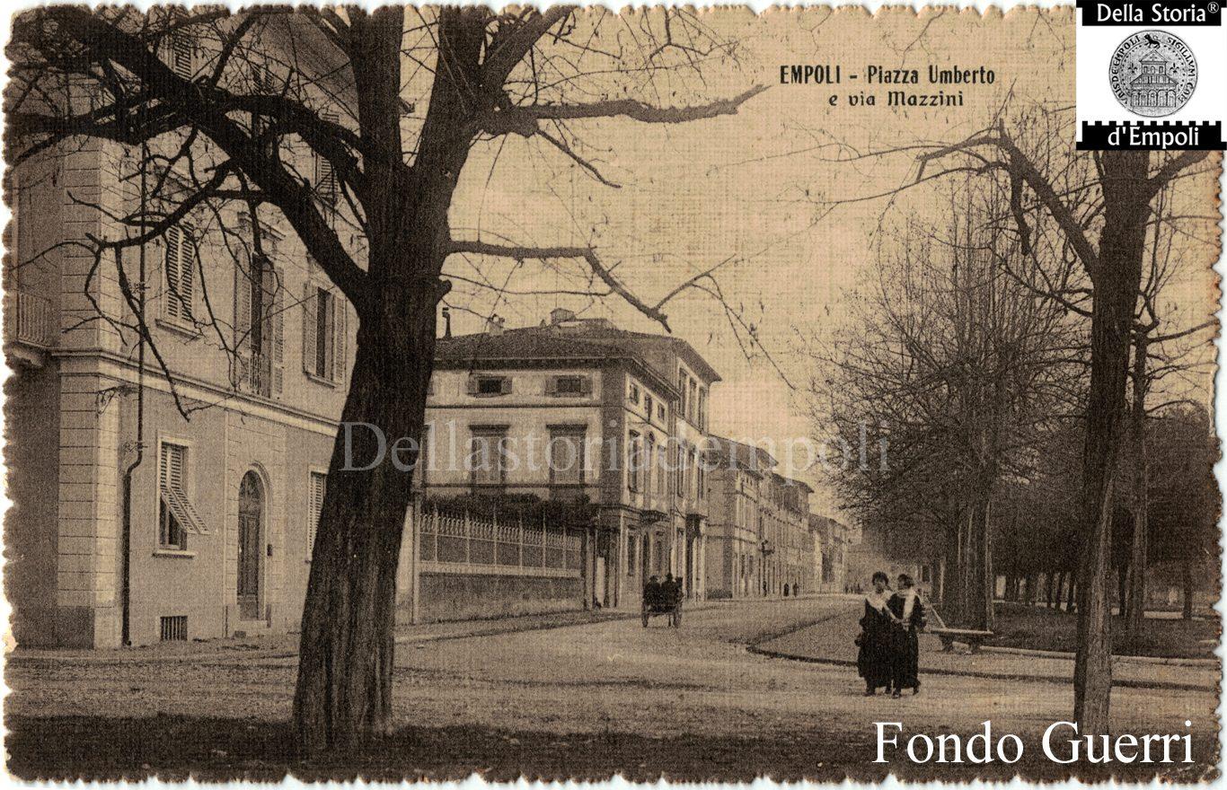 Empoli: Piazza Matteotti Lato Via Mazzini, Dal Fondo Guerri