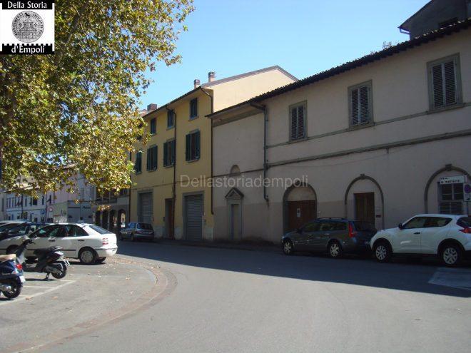 Empoli - Piazza Matteotti ex Chiesa San Luigi e Filippo