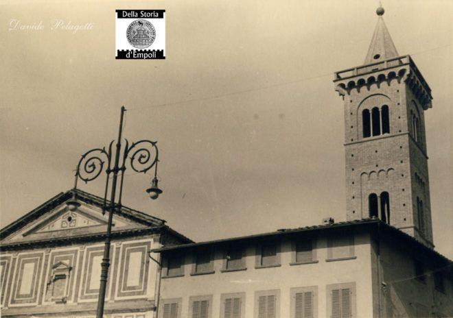 Empoli - Piazza dei Leoni e Collegiata anni 50 da Davide Pelagotti