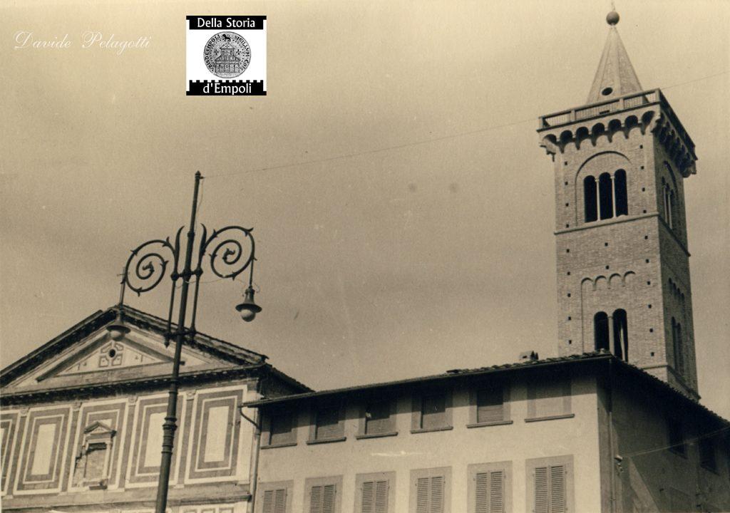 Empoli – Piazza Dei Leoni E Collegiata Anni 50 Da Davide Pelagotti