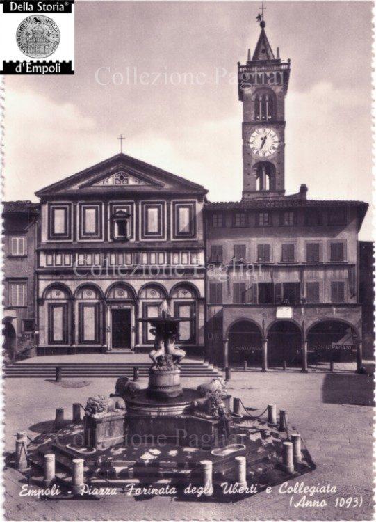 Empoli - Piazza dei Leoni prima della Guerra - collezione Pagliai