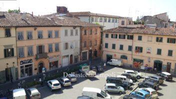Piazza del Popolo ad Empoli: lo stato dei luoghi al 28 agosto 2012