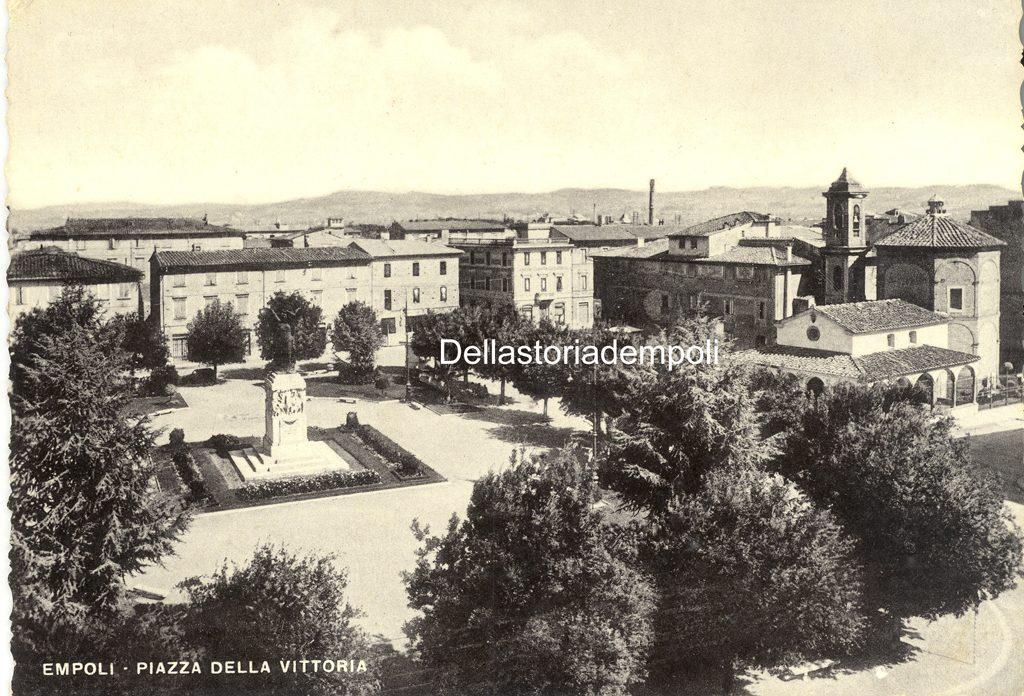 Empoli Piazza Della Vittoria Anni 60 2