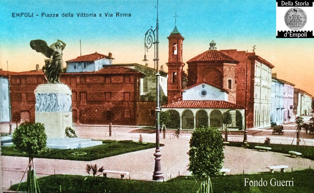 Dal Fondo Della Famiglia Guerri: Piazza Della Vittoria E Il Particolare Del Lampione…