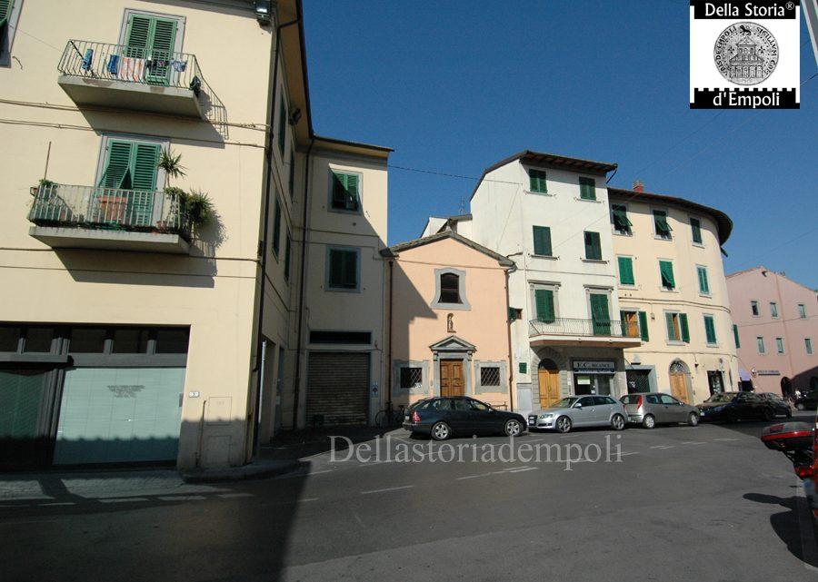 Empoli - Piazzetta Garibaldi Chiesa di Sant'Antonio Abate 16-10-2011