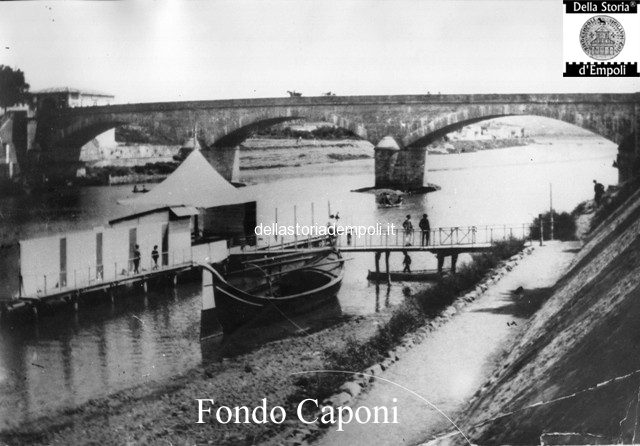 Empoli - Ponte e lo stabilimento balneare