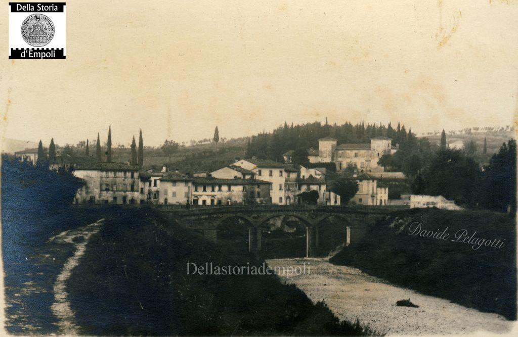 Il Vecchio Ponte Sull'Orme Alla Foce Sull'Arno