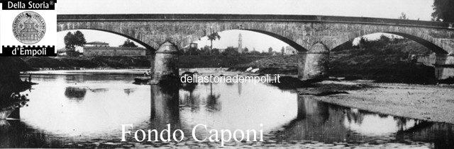 Ponte vecchio lato a monte