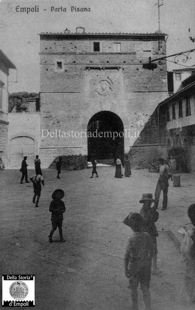 Empoli - Porta Pisana cartolina