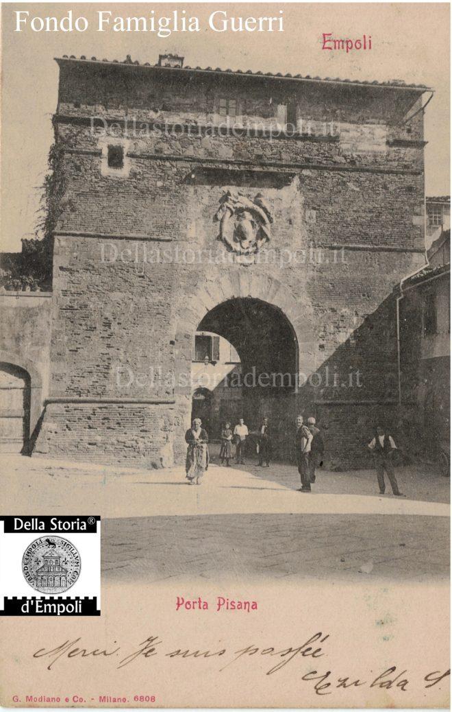 Porta Pisana - Foto collezione Famiglia Guerri