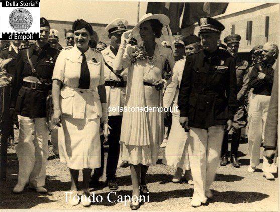 Presentazione Mostra attività empolesi con la Principessa Maria Josè di Savoia