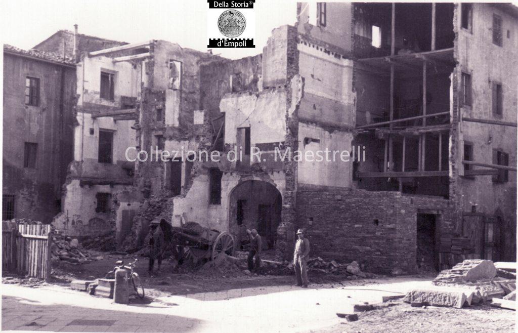 Empoli – Ricostruzione Via Marchetti Incrocio Via Chiara 1949 Da Roberta Maestrelli 3