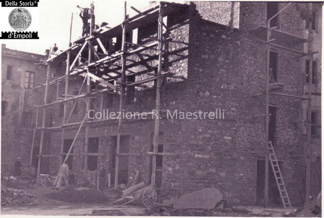 Empoli - Ricostruzione Via Marchetti incrocio Via Chiara 1949 da Roberta Maestrelli 4