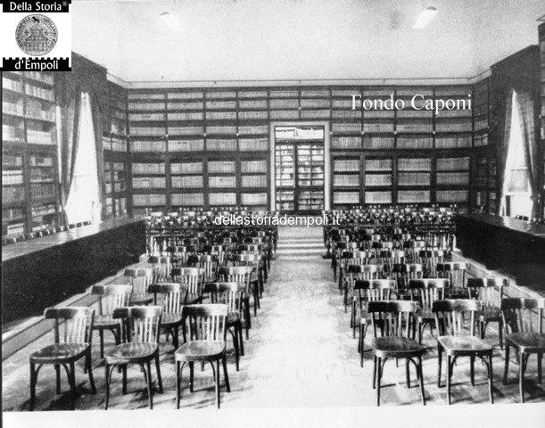 Empoli Sala biblioteca fucini