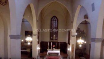 Filmato dronico: chiesa di S. Stefano degli Agostiniani a Empoli