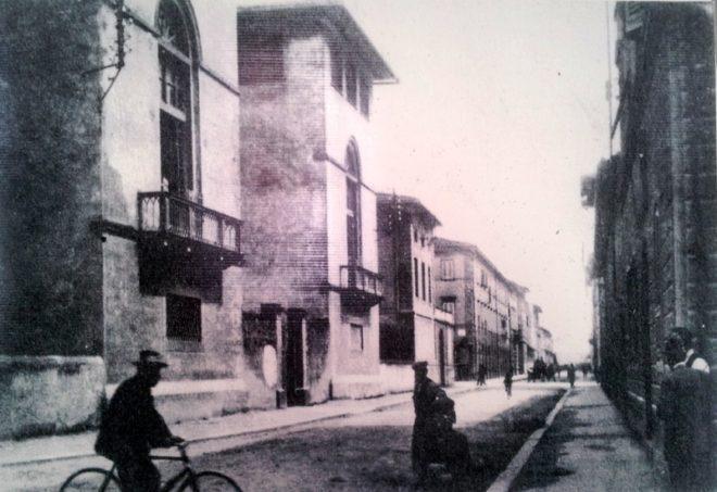 Empoli - Spedale Vecchio dal pannello pubblico allo spedale vecchio