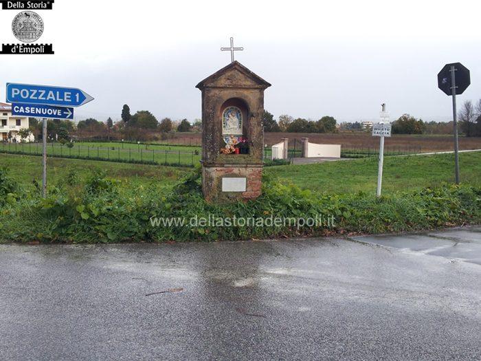 Tabernacoli: Madonna Col Bambino In Via Salaiola Incrocio Via Sottopoggio – Di Carlo Pagliai